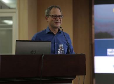 """""""走进基础、亲近临床""""系列学术活动(三十一)——Jeffrey Brook教授讲座"""